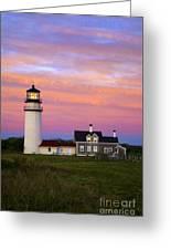 Cape Cod Light Truro Greeting Card