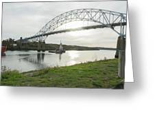 Cape Cod Sagamore Bridge Series #3 Greeting Card