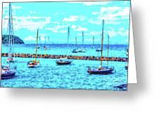 Cape Cod - Sailing Mecca Greeting Card