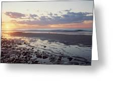 Cape Cod Sunset Greeting Card