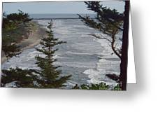 Cape Disappointment Beach Greeting Card