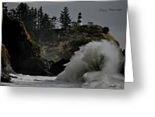 Cape Disappointment Finale Greeting Card