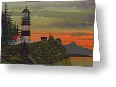 Cape Disappointment Greeting Card by James Lyman