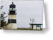 Cape Disappointment Lighthouse Closeup Greeting Card