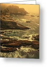 Cape Flattery Misty Morning - Washington Greeting Card