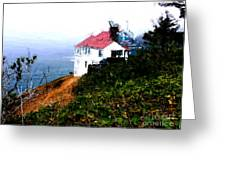 Cape Foulweather Greeting Card