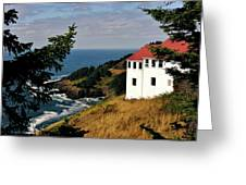 Cape Foulweather Point Greeting Card