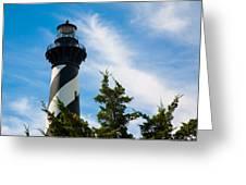 Cape Hatteras Lantern Room Greeting Card