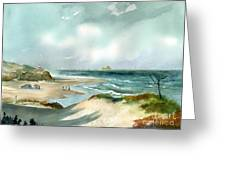 Cape Henlopen State Park Greeting Card