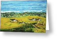 Cape Huts Greeting Card