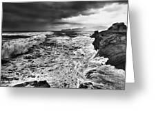 Cape Kiwanda Storm Greeting Card