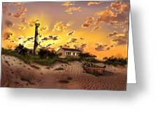 Cape Lookout Lighthouse 2 Greeting Card