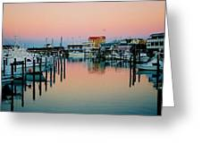 Cape May After Glow Greeting Card