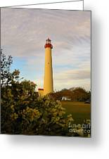 Cape May Lighthouse In Spring Greeting Card