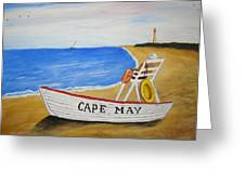 Cape May Greeting Card by Rita Tortorelli