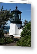 Cape Meares Lighthouse Li 100 Greeting Card