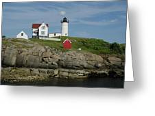 Cape Neddick Light Greeting Card