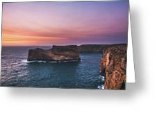 Cape Sagres Viewpoint Greeting Card