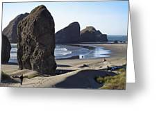 Cape Sebastian - Hunters Cove Area- Oregon Coast Greeting Card
