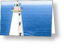 Cape Spear Lighthouse Greeting Card