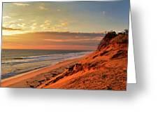 Cape Sunrise Sands Greeting Card