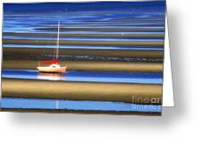 Cape Tidal Flats Greeting Card