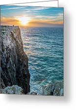 Cape Vincent, Portugal Greeting Card