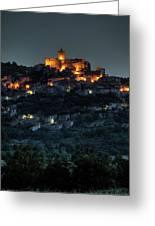 Capestrano Abruzzo Italy Greeting Card