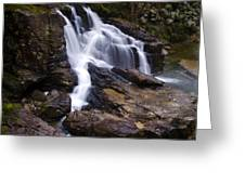 Capilano Waterfall Greeting Card