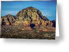 Capital Butte Evening Greeting Card