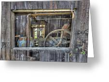 Capital Quarry Cutting Shed Greeting Card