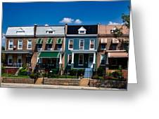 Capital Street Homes Greeting Card