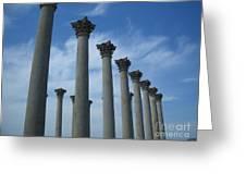 Capitol Columns Greeting Card