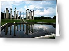 Capitol Columns, National Arboretum Greeting Card