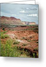 Capitol Reef 4 Greeting Card