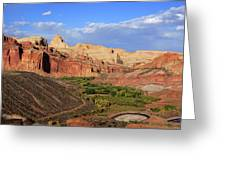 Capitol Reef State Park, Utah Greeting Card