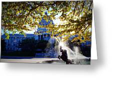 Capitol View Greeting Card