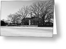 Capitol Winter Scene Greeting Card
