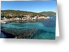 Capo Caccia Sardinia Greeting Card