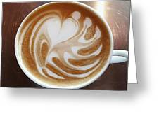 Cappuccino 2 Greeting Card
