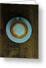 Cappuccino In A Cup Greeting Card