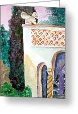 Capri Sphinx Greeting Card