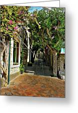 Capri Street Greeting Card