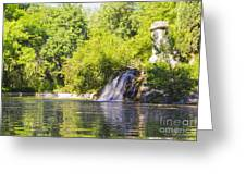 Capricho Waterfall Greeting Card by Stefano Piccini