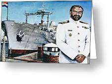 Capt Eric Green Greeting Card by Tim Johnson