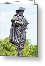 Captain Christopher Newport Greeting Card