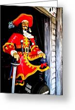 Captain Morgan Greeting Card by Bruce Kessler