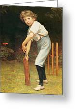 Captain Of The Eleven Greeting Card by Philip Hermogenes Calderon