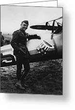Captain Rickenbacker Greeting Card by War Is Hell Store