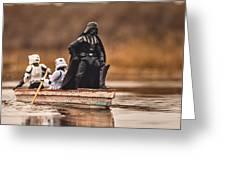 Captain Vader Greeting Card